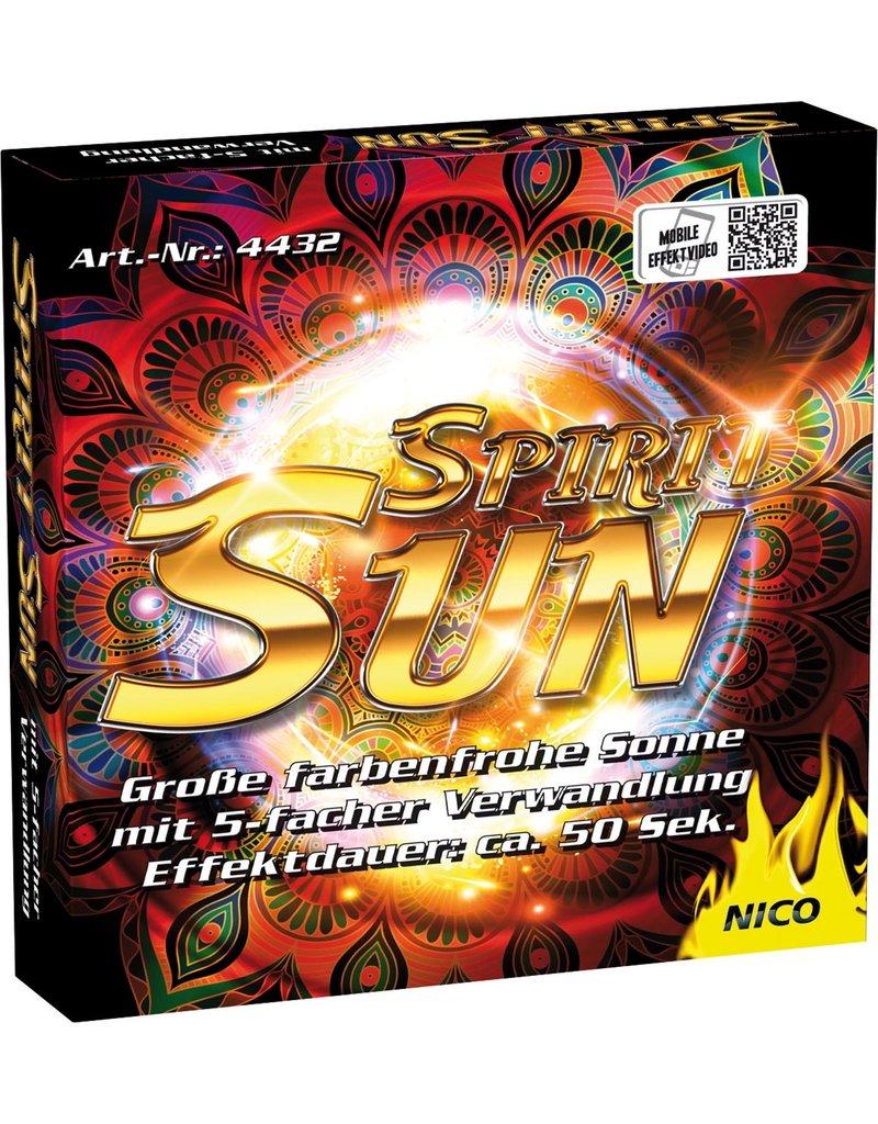 Nico Europe Spirit Sun, Effekt-Sonne von Nico Feuerwerk