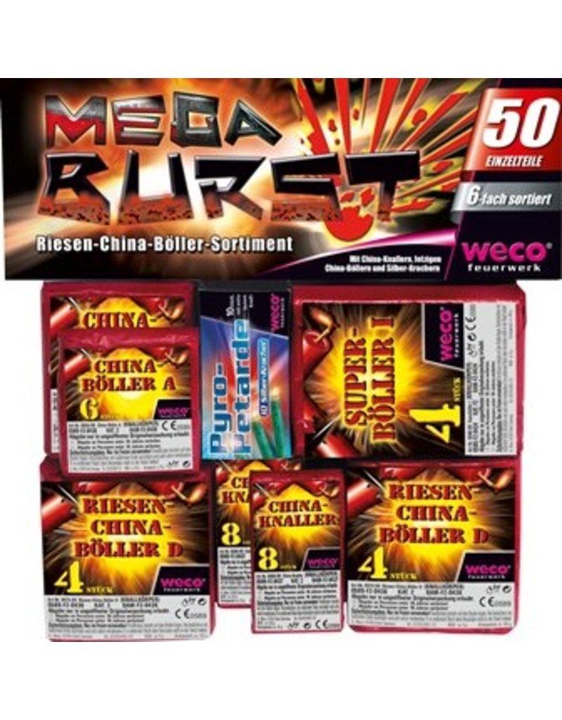 Weco Feuerwerk Mega Burst von Weco Feuerwerk