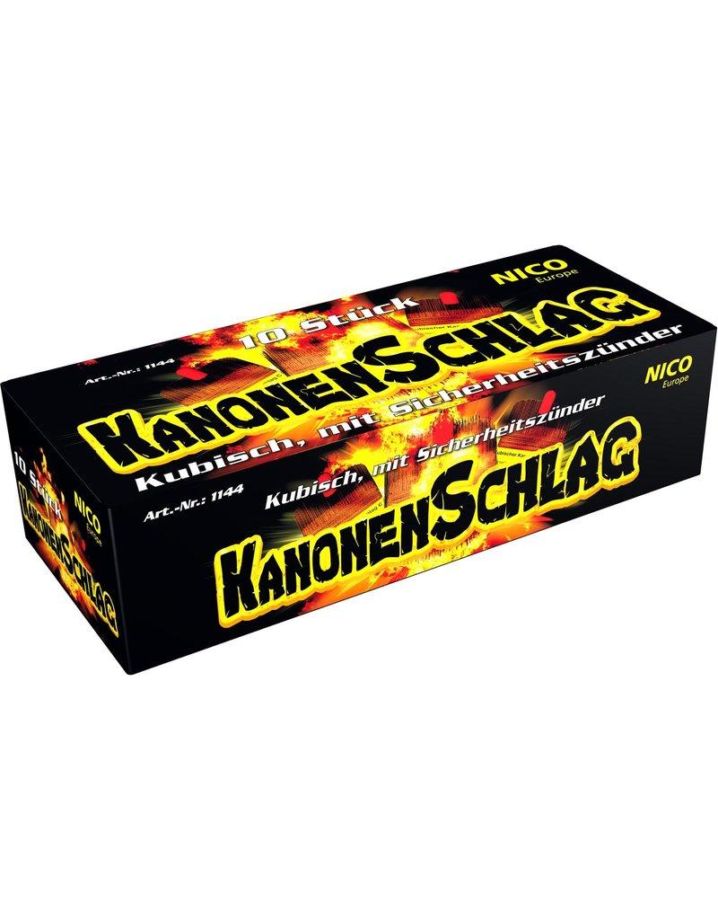 Nico Europe Kanonenschlag, kubisch C von Nico Feuerwerk