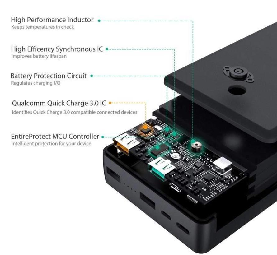 Aukey Powerbank PB-T11 30.000 mAh - QC 3.0
