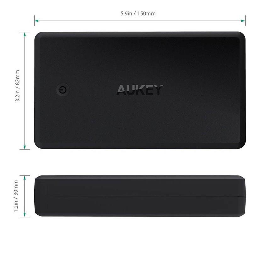 Aukey Powerbank PB-Y7 30.000 mAh USB-C Power Delivery