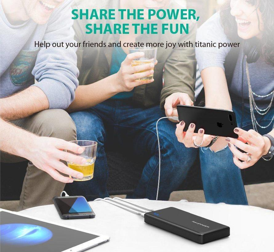 RAVPower Xtreme Powerbank 26.800 mAh