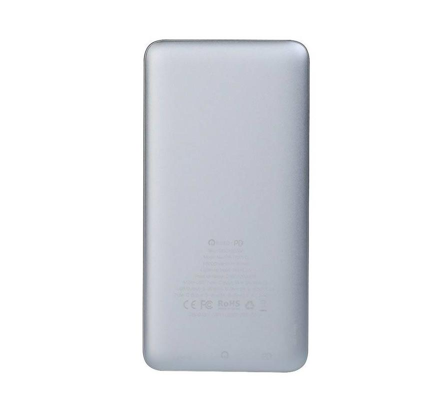 iWalk Chic PD Powerbank 10.000 mAh Zilver