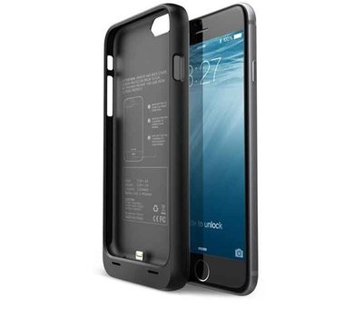 Movadi iPhone 6 / 6S Battery Case 3300mAh - Black