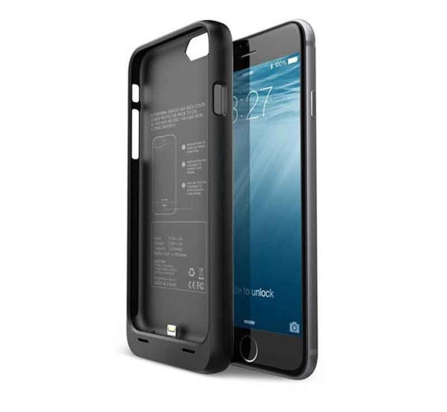 iPhone 6 / 6S Battery Case 3300mAh - Black