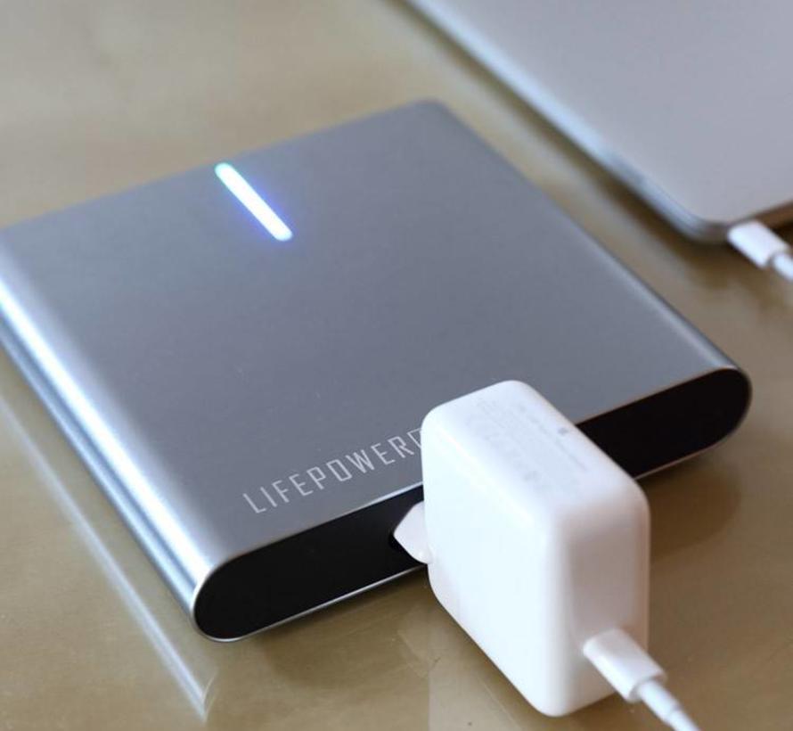 LifePower A2 L Stopcontact Powerbank 25.600 mAh