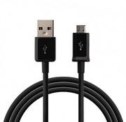 Micro USB kabel Zwart