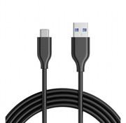 USB-C Kabel Zwart