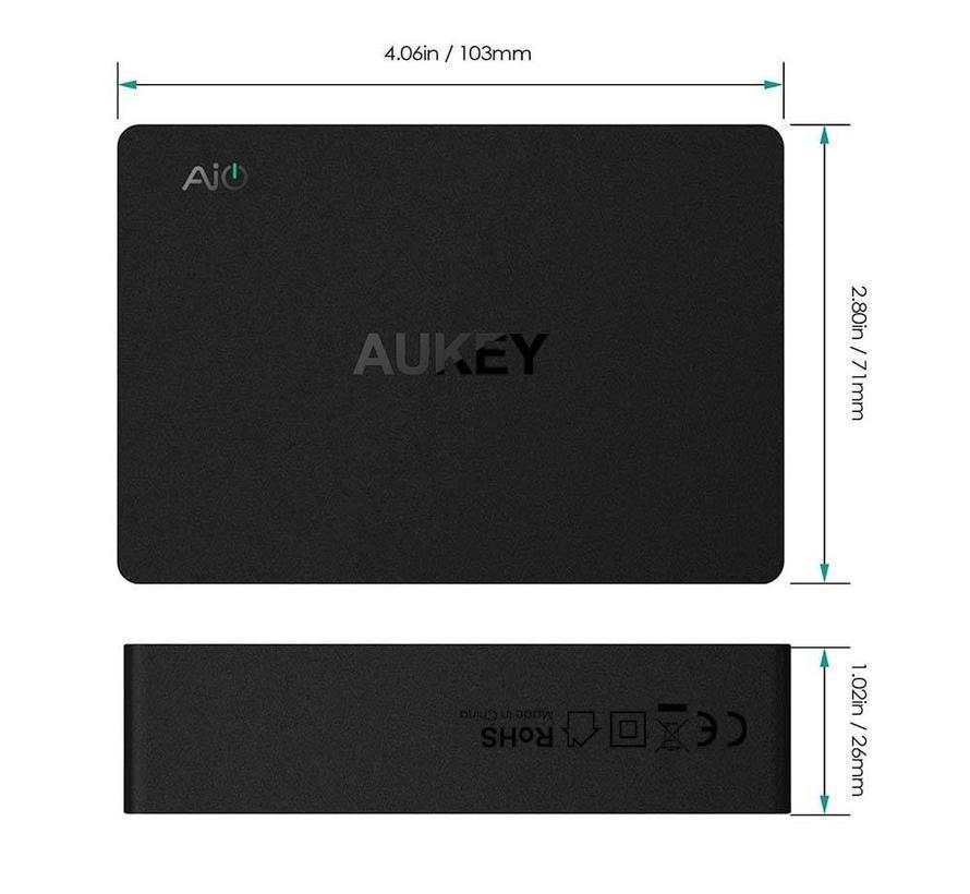 Aukey PA-T11 6-poort USB Multi Lader