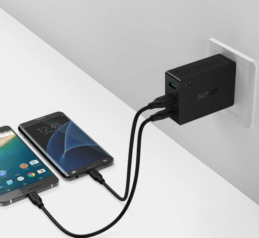 Aukey PA-Y4 3-poort USB-C Lader