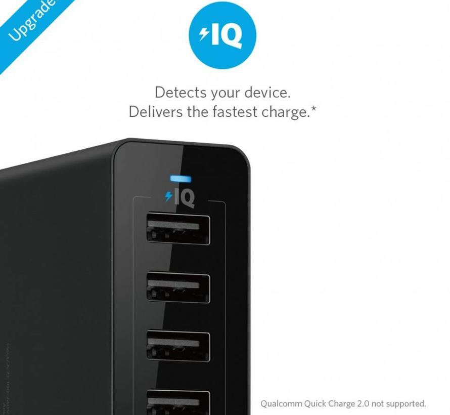 Anker PowerPort 10-Poort USB Multi Lader