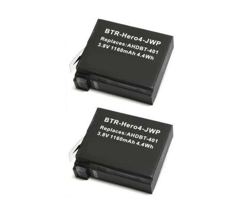 GoPro Batterij Hero 4 accu 1.160 mAh
