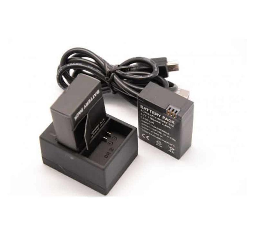 Batterij Oplader 1.6A Fast Charge voor GoPro Hero 3 / 3+