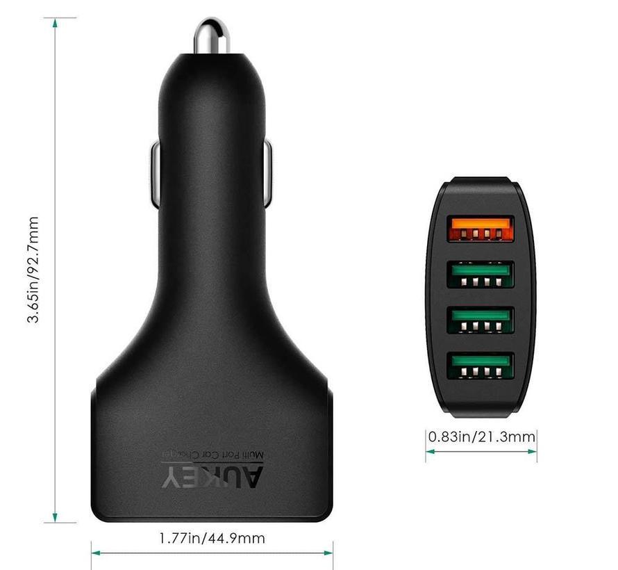 Aukey CC-T9 4-Poort Autolader