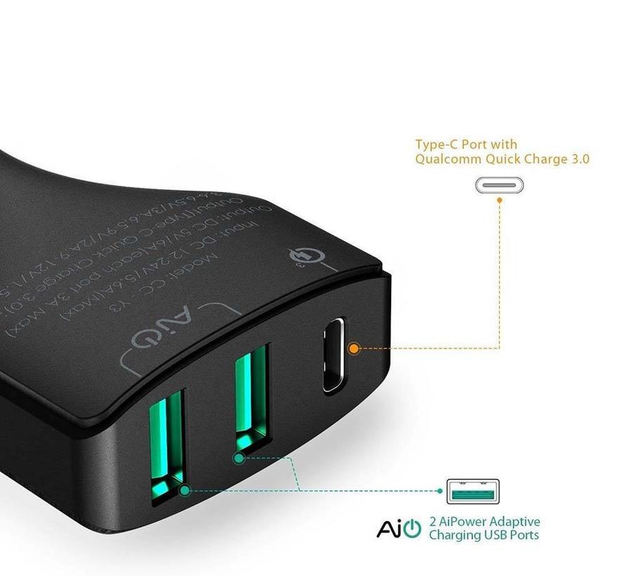 Aukey CC-Y3 USB-C Autolader
