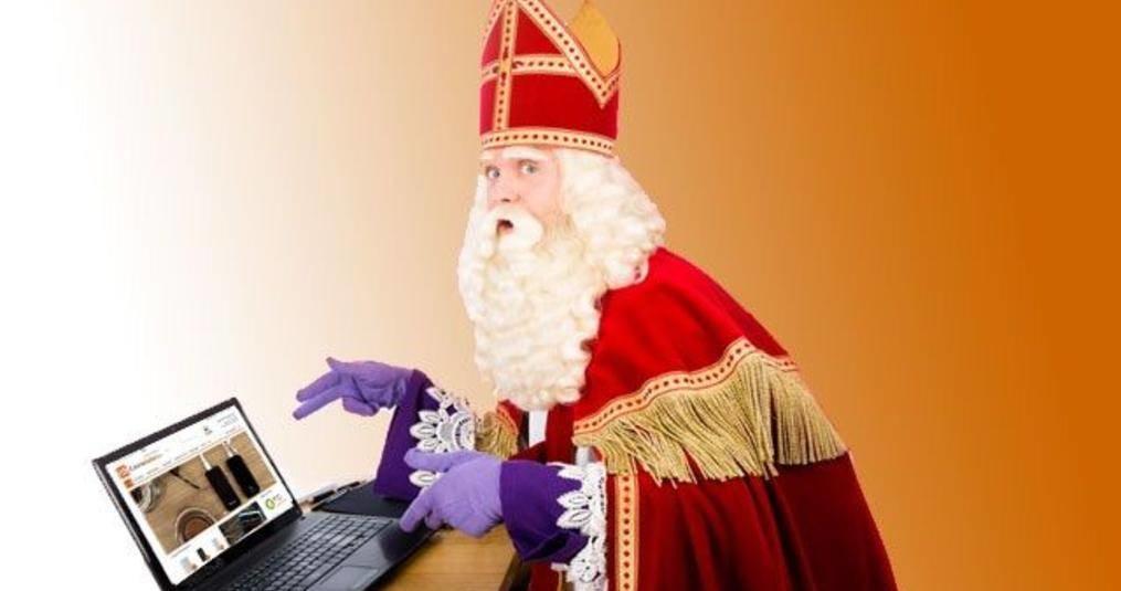 Sinterklaas Powerbank Gedicht