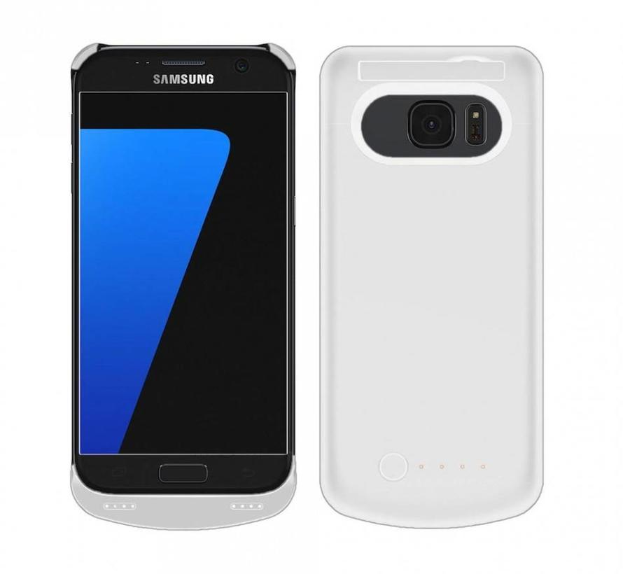 Samsung Galaxy S7 Battery Case 4000 mAh Wit