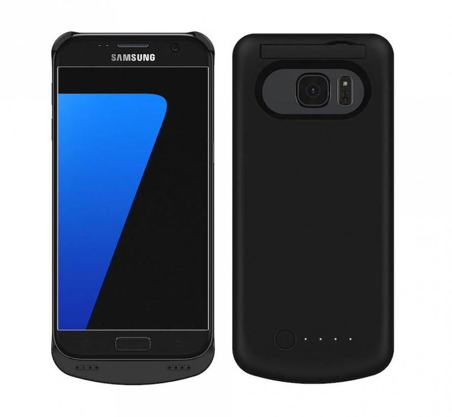 Samsung Galaxy S7 Battery Case 4000 mAh Zwart