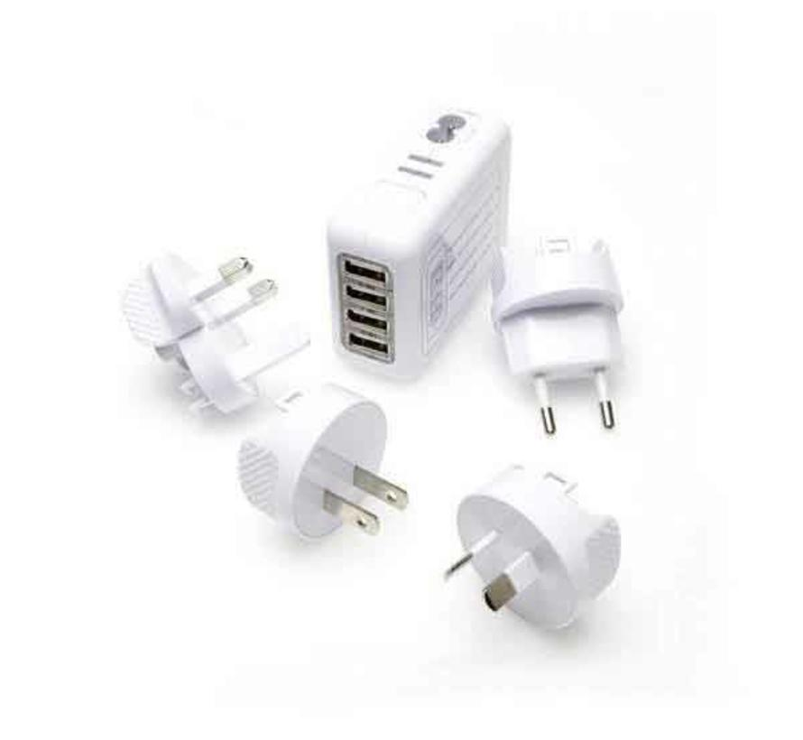 Reis Lader 4x USB Multi Lader