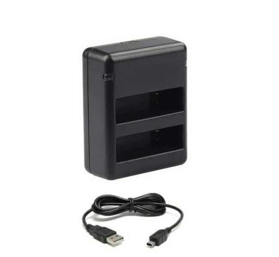 Batterij Oplader 1.6A Fast Charge voor GoPro Hero 4