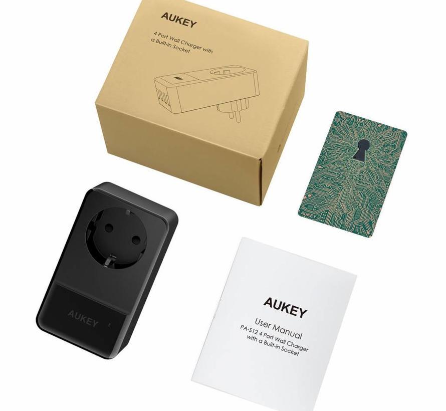 Aukey Laadadapter Stopcontact PA-S12