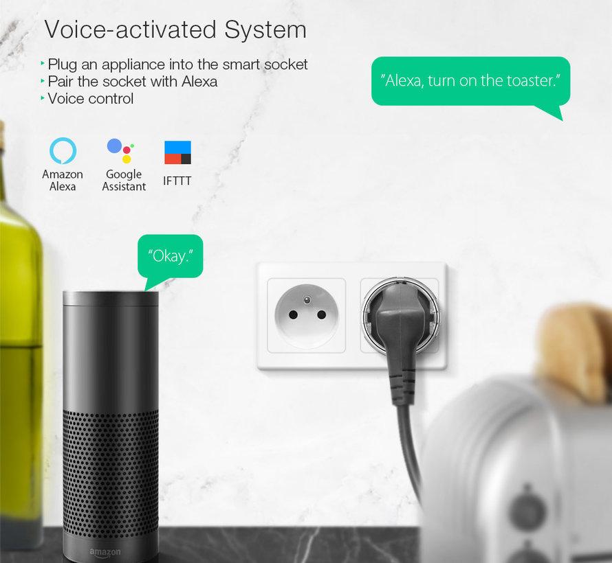 BlitzWolf - BW-SHP6 WiFi Smart Home stopcontact