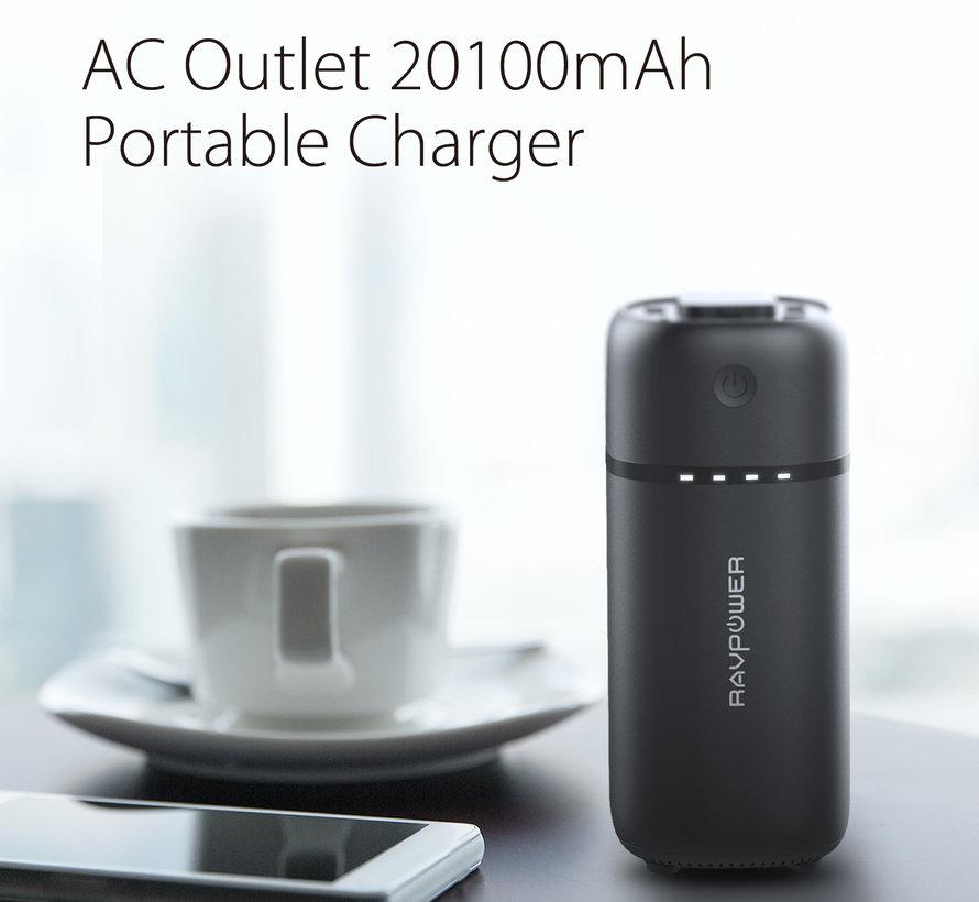 RAVPower Powerstation Powerbank 20.100 mAh