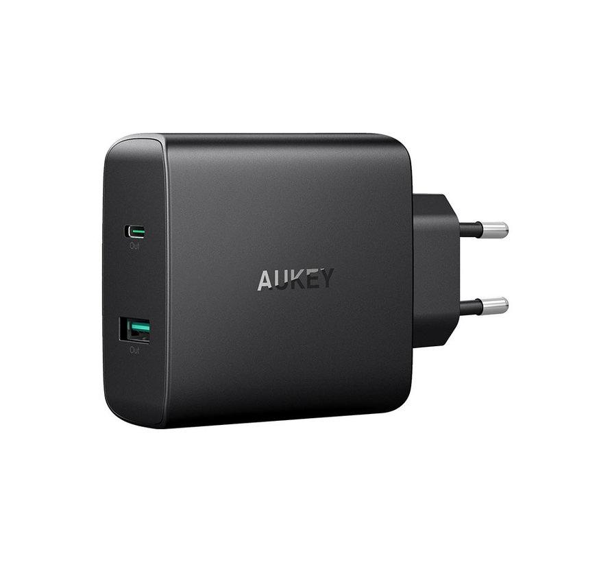 Aukey PA-Y10 56.5W USB-C PD lader