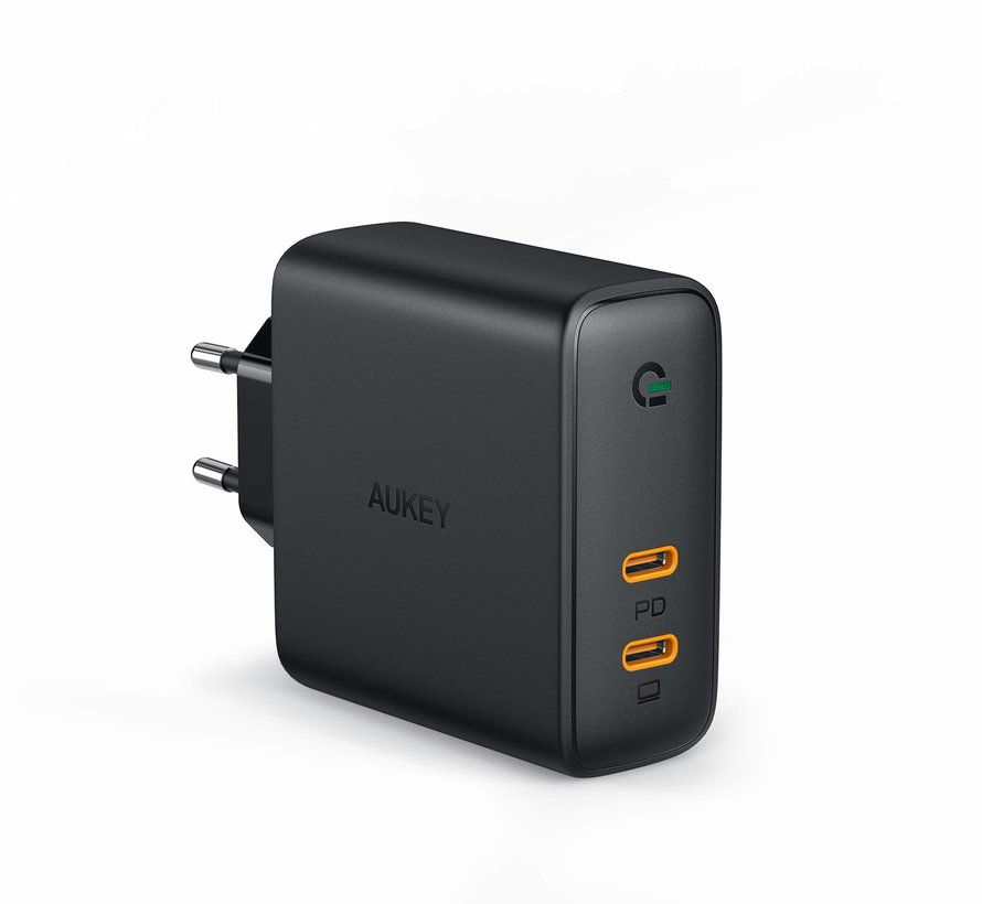 Aukey PA-D5 Focus Duo USB-C PD lader 63W