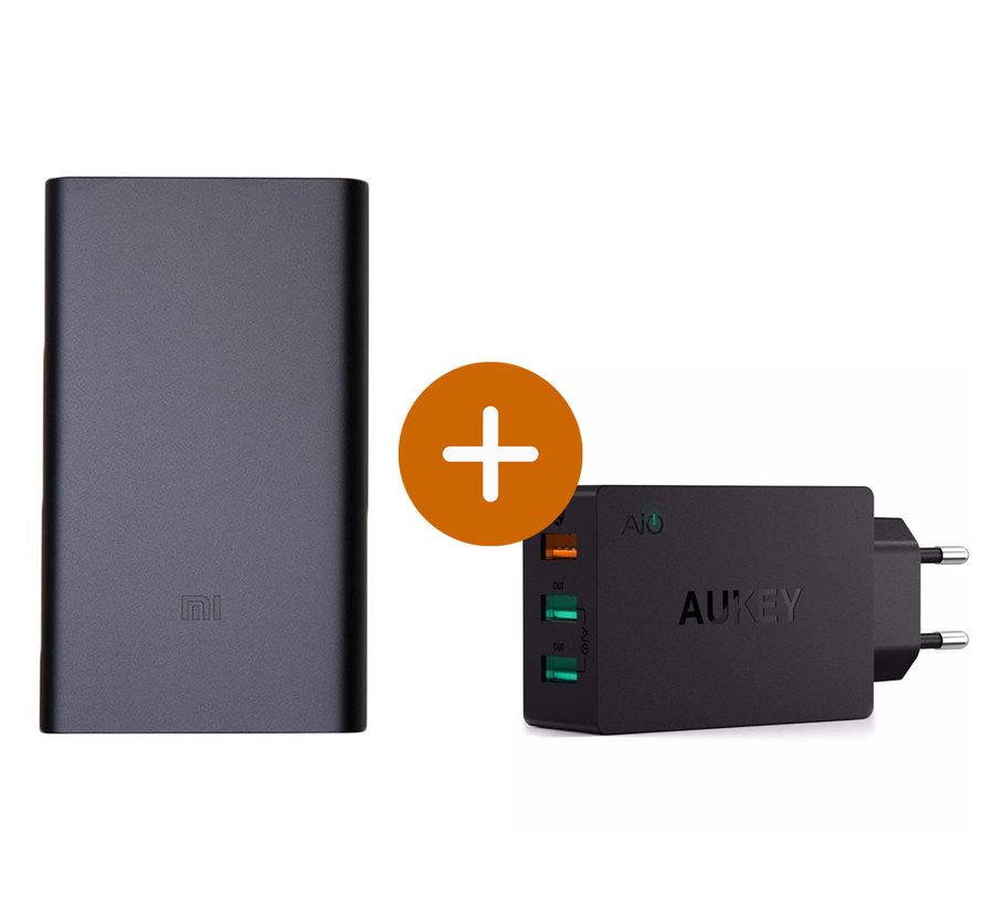 Xiaomi Powerbank 10.000 mAh V2 Zwart