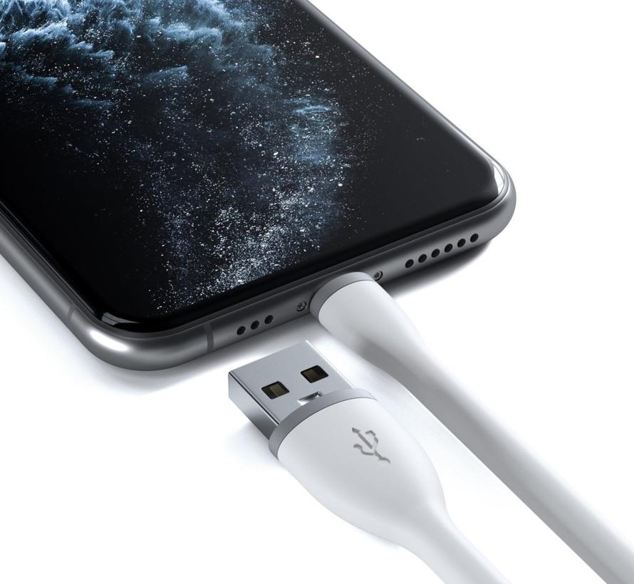 Satechi USB-A - Lightning MFI 0.15m - Wit