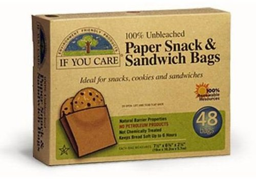 If You Care Boterhamzakjes van papier
