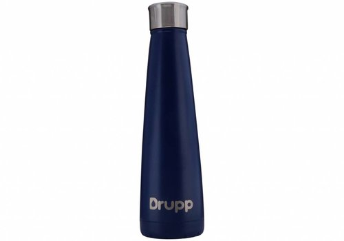 Drupp Luxe thermosfles - blauw