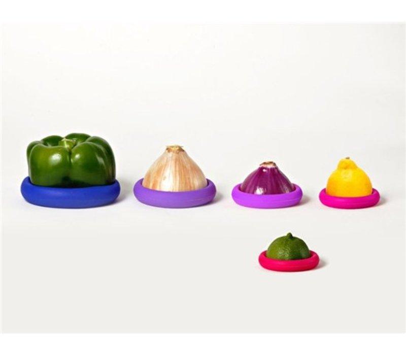 Foodhuggers - 5 stuks - Bright Berry