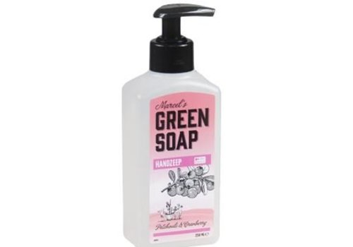 Marcels Green Soap Handzeep - Patchouli & Cranberry