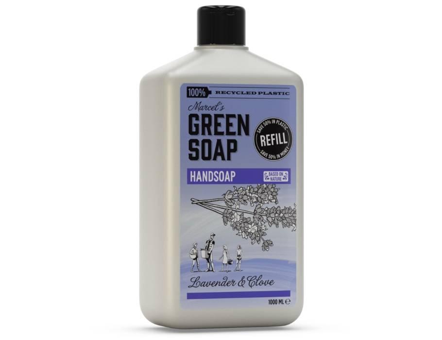Marcels Green Soap Handzeep navulling - Lavendel & Kruidnagel