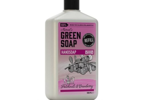 Marcels Green Soap Handzeep navulling - Patchouli & Cranberry