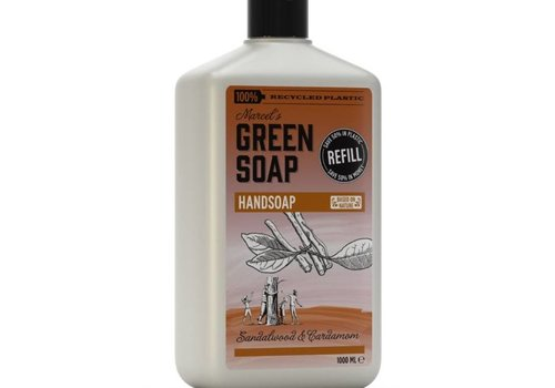 Marcels Green Soap Handzeep navulling - Sandelhout & Kardemom