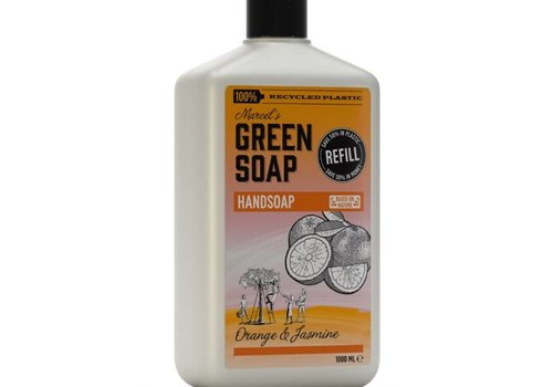 Marcels Green Soap Handzeep navulling - Sinaasappel & Jasmijn