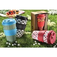 Koffiebeker To Go - Kai Leho - van biologisch afbreekbaar bamboe