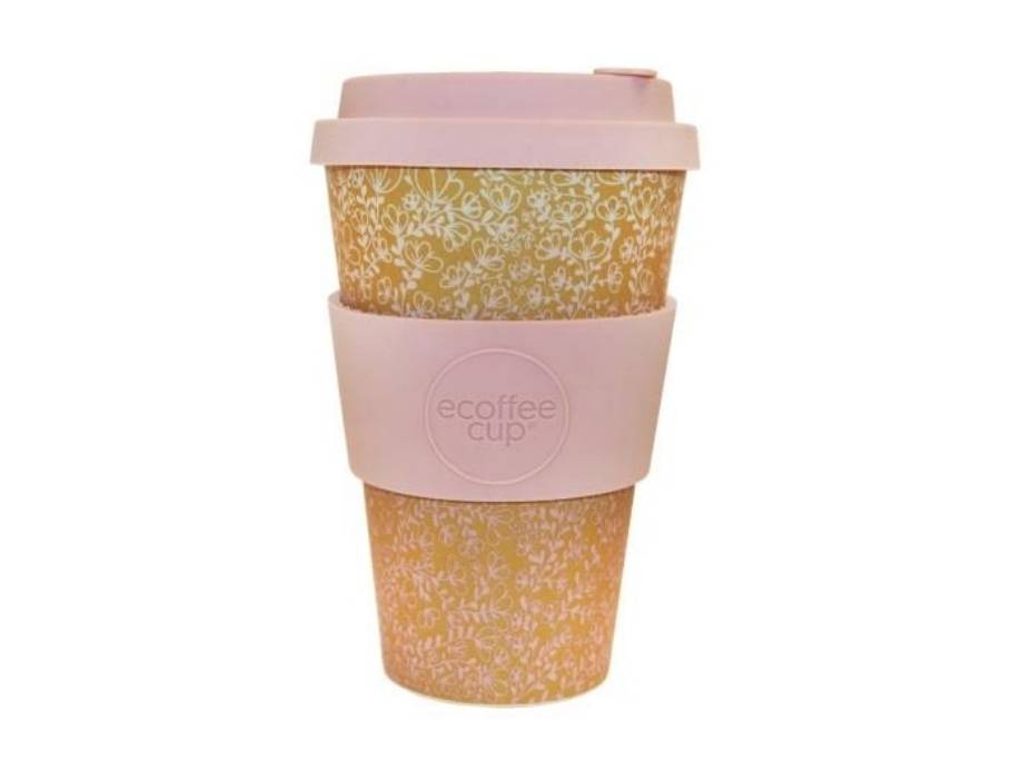 Ecoffee Koffiebeker To Go - Miscoso Primo - van biologisch afbreekbaar bamboe