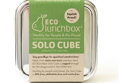 Eco lunchboxes Lunchbox Solo Cube - RVS