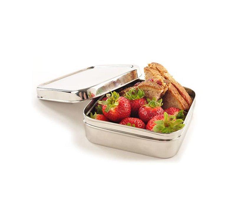 Lunchbox Solo Cube - van roestvrijstaal