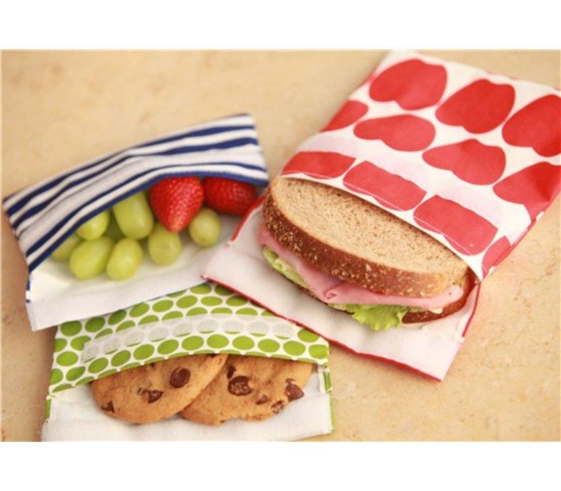 Lunchskin sandwich bag - Red Birds