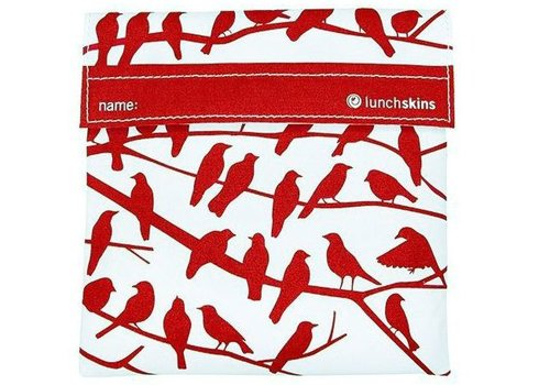 Lunchskin sandwich bag - Red Birds