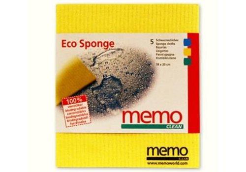 Memo Import Spons Doekjes - biologisch afbreekbaar