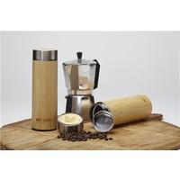 Thermosfles Bamboe voor thee met zeefje - 400ml