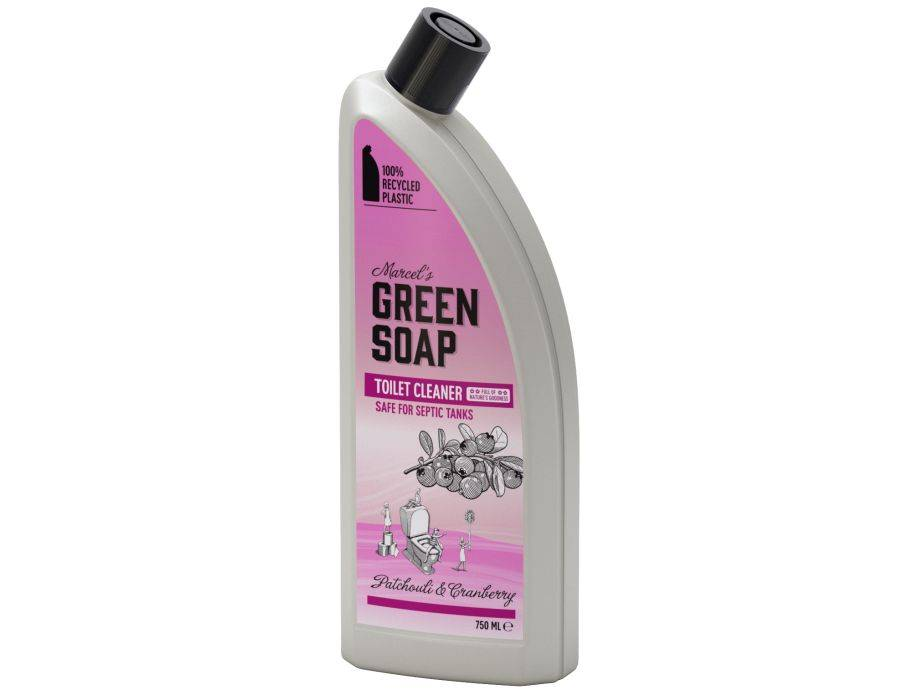 Marcels Green Soap Toiletreiniger - Patchouli en Cranberry geur