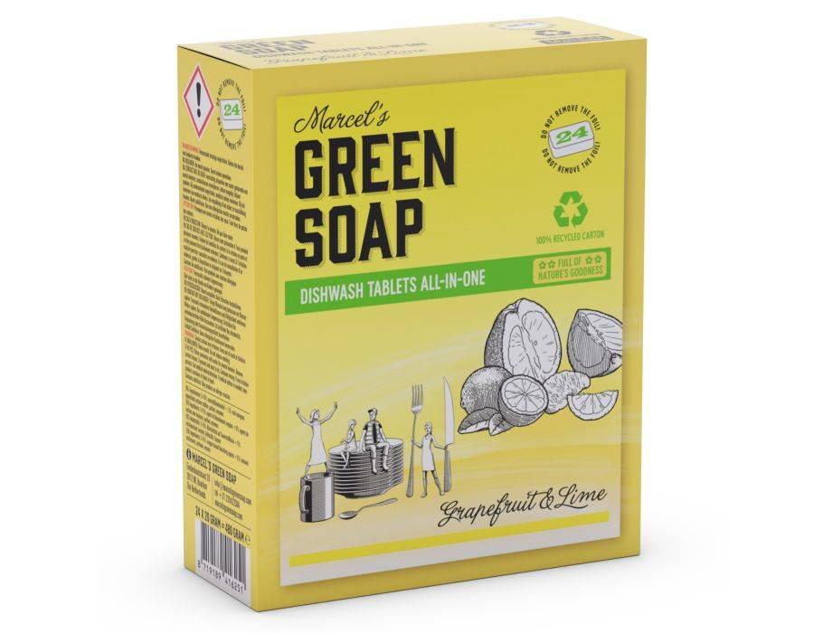 Marcels Green Soap Ecologische vaatwastabletten - Grapefruit en Limoen