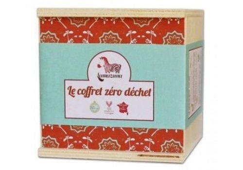 Lamazuna Zero waste geschenkdoos - rood